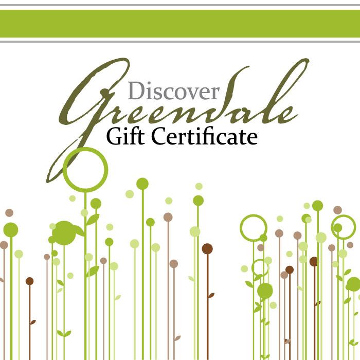 Greendale Gift Certificate